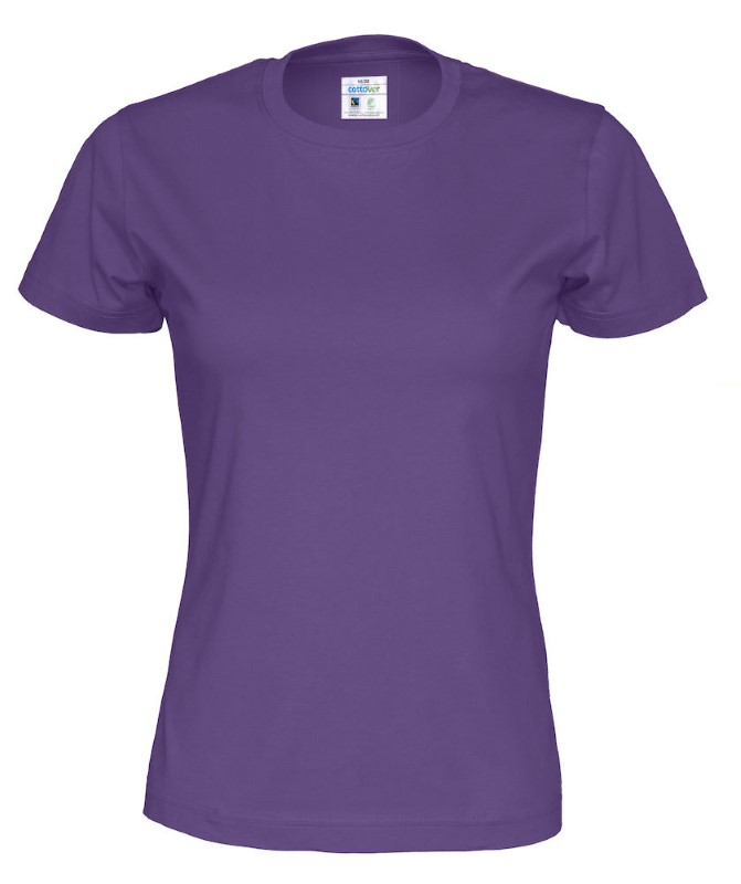 Cottover T-shirt Lady paars XS