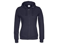 Cottover Full Zip Hood Lady marine XL