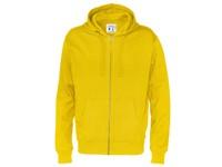 Cottover Full Zip Hood Man geel 3XL