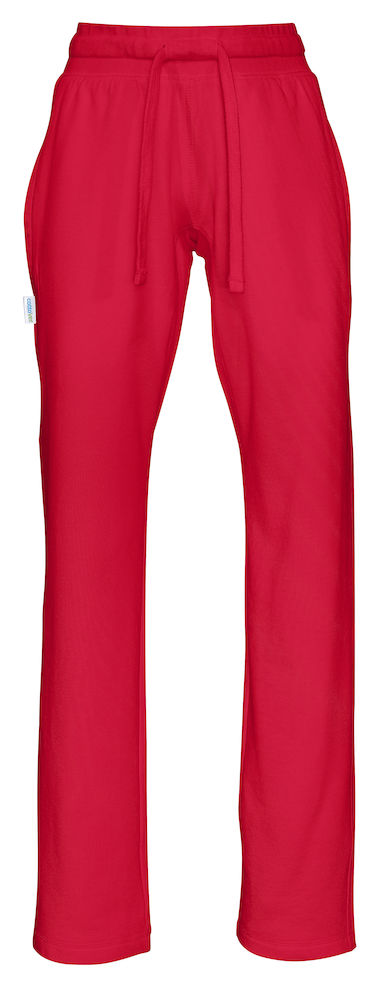Cottover Sweat Pants Lady rood XS