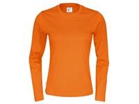 Cottover T-shirt Long Sleeve Lady oranje M