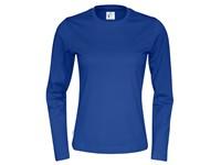 Cottover T-shirt Long Sleeve Lady koningsblauw XL