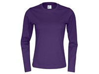 Cottover T-shirt Long Sleeve Lady paars L