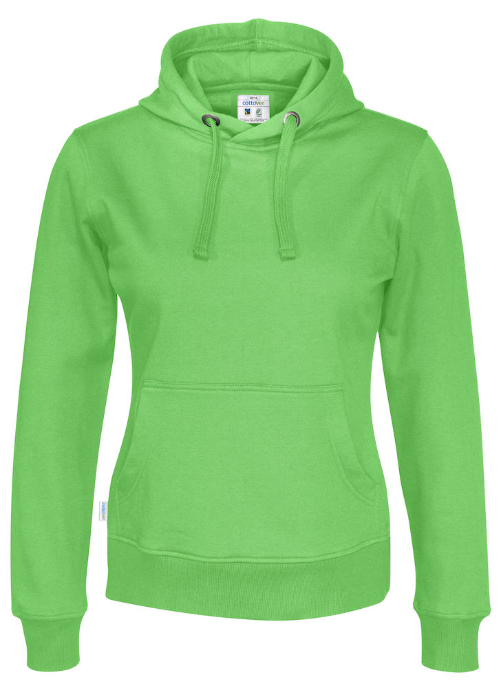 Cottover Hood Lady groen M