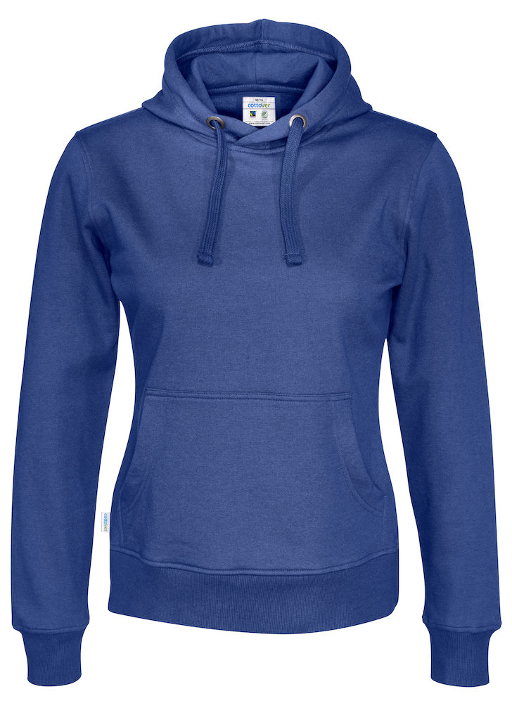 Cottover Hood Lady blauw XL