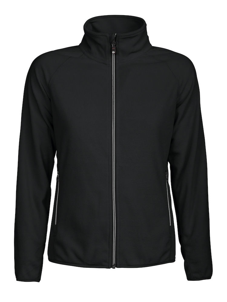 DAD MELTON LADY FULL ZIP Zwart S