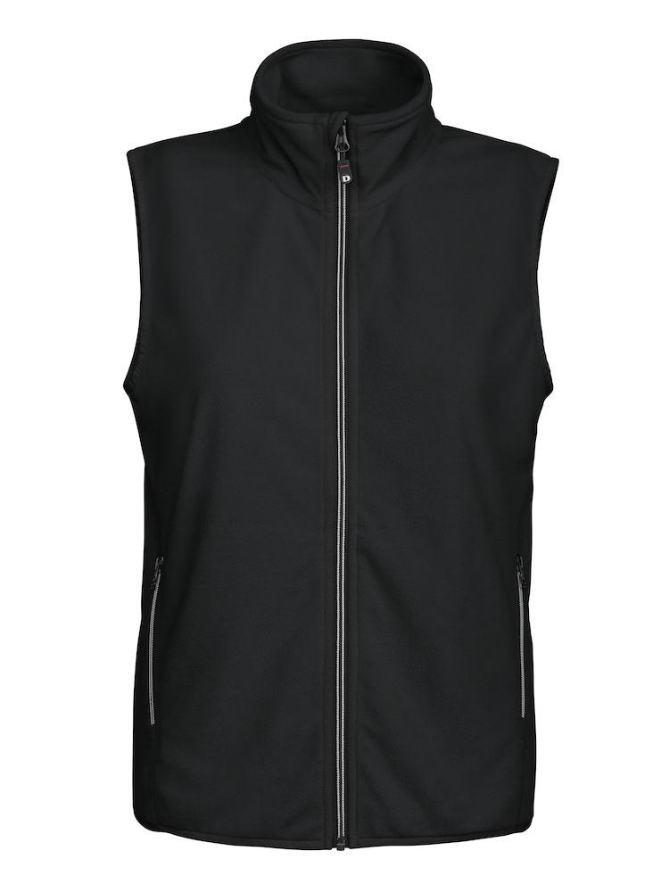 DAD melton lady vest zwart L