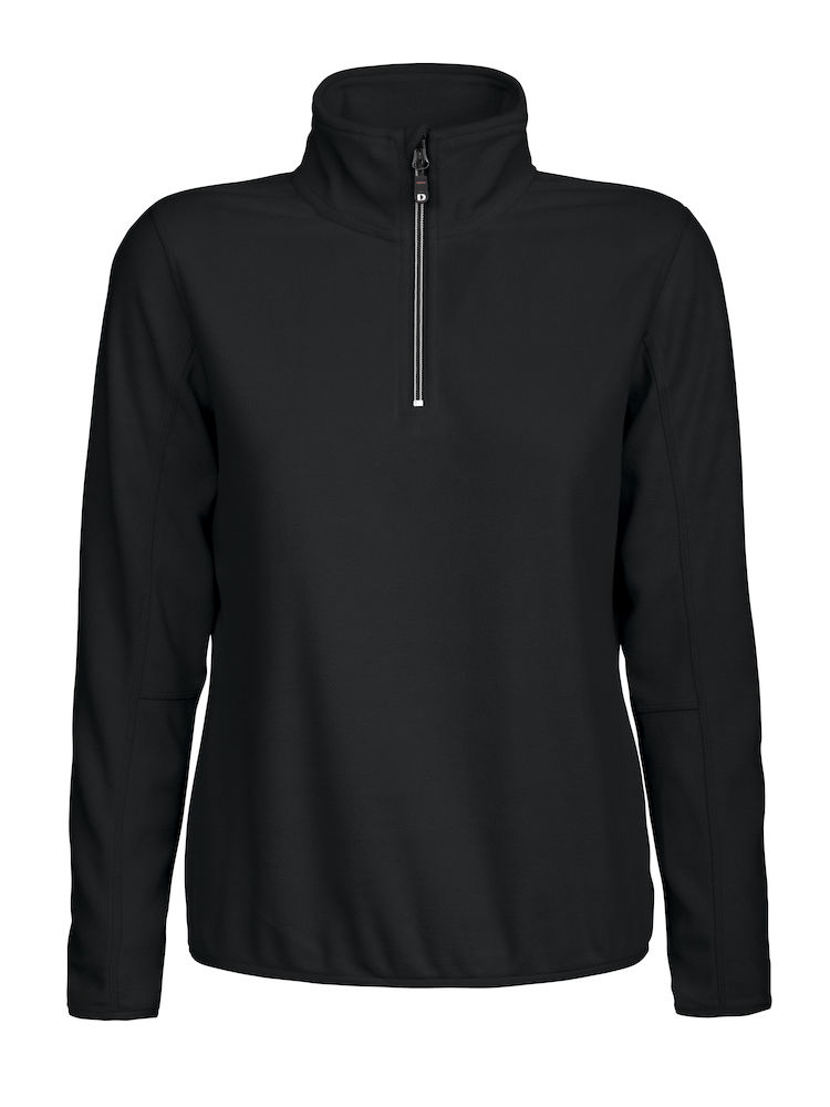 DAD Melton lady half zip zwart XL