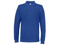 Cottover Pique Long Sleeve Man blauw L