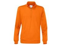 Cottover Half Zip Unisex oranje XL