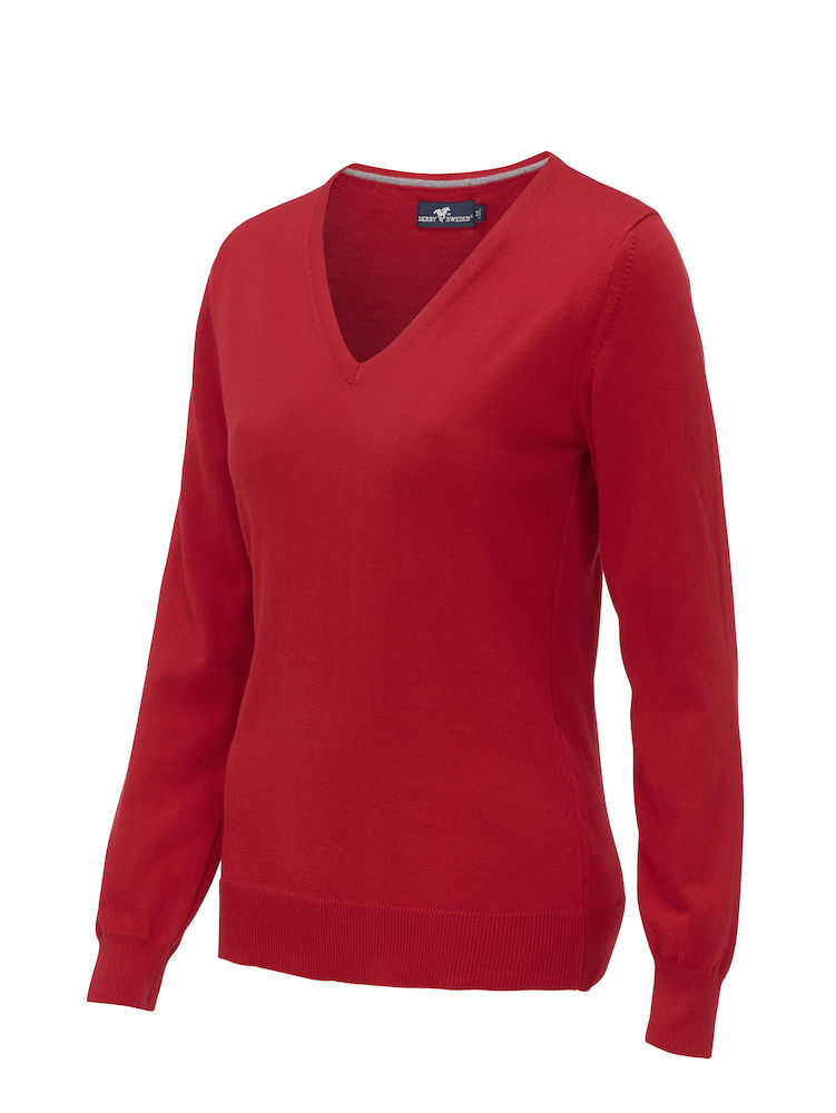 Derby of Sweden GARLAND PULLOVER LADY rood XXL