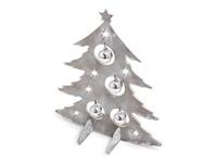 Xmas Tree Deco Grey