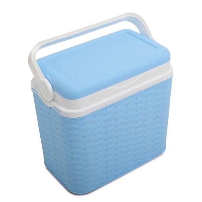 Coolbox Rotan 10 Liter Light Blue