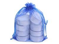 Organza Tealight Bag /8 Blue