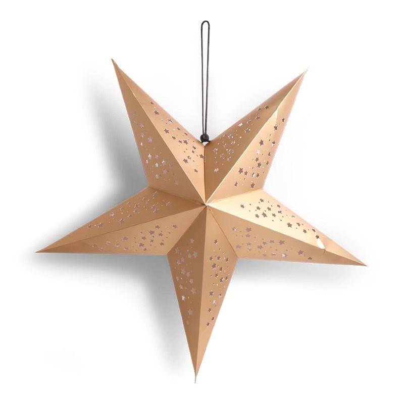 SENZA 3D Star Gold