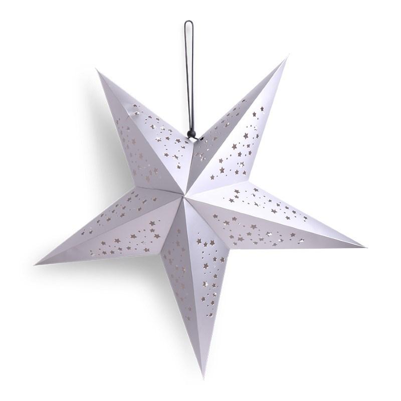 SENZA 3D Star Silver