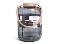 SENZA Glass Jar XL Grey