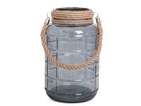 SENZA Glass Jar Large Grey