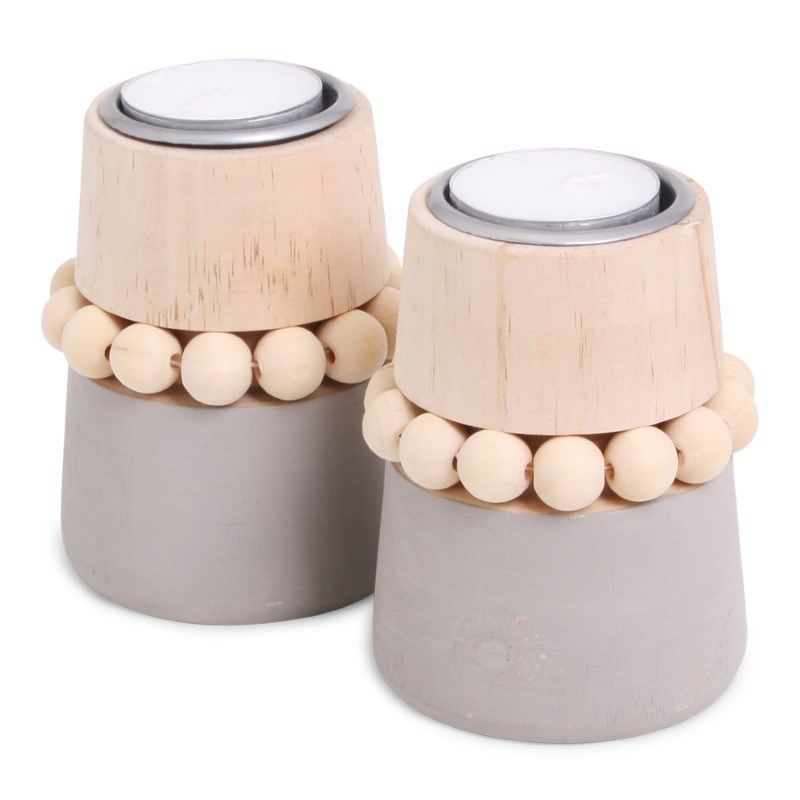 SENZA Beads Candle Holder /2