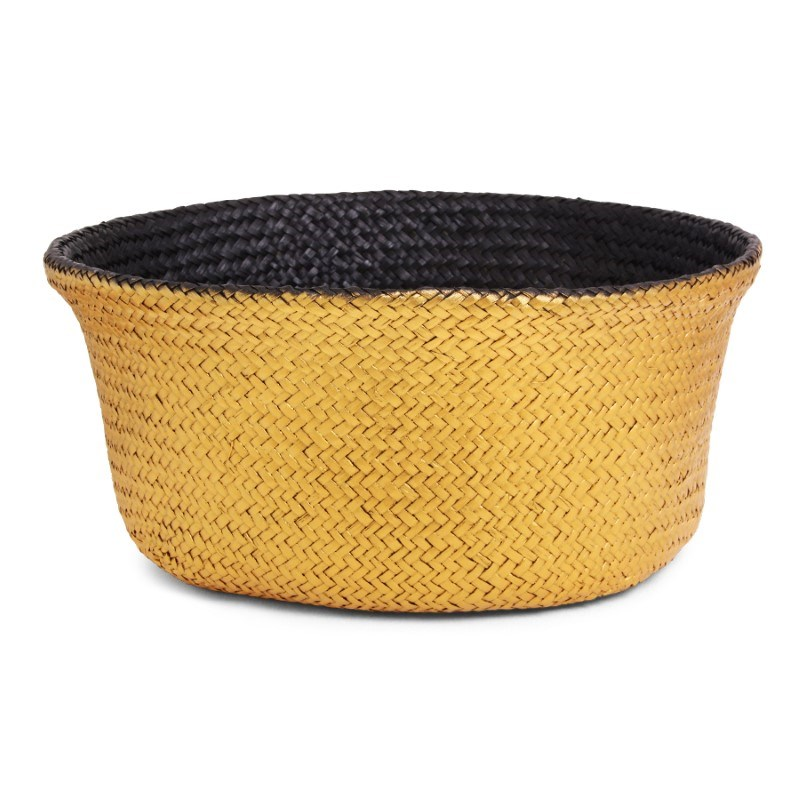 SENZA Belly Basket Black/Gold