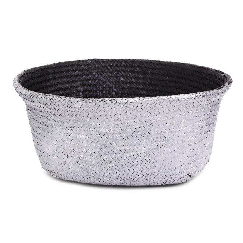 SENZA Belly Basket Black/Silver