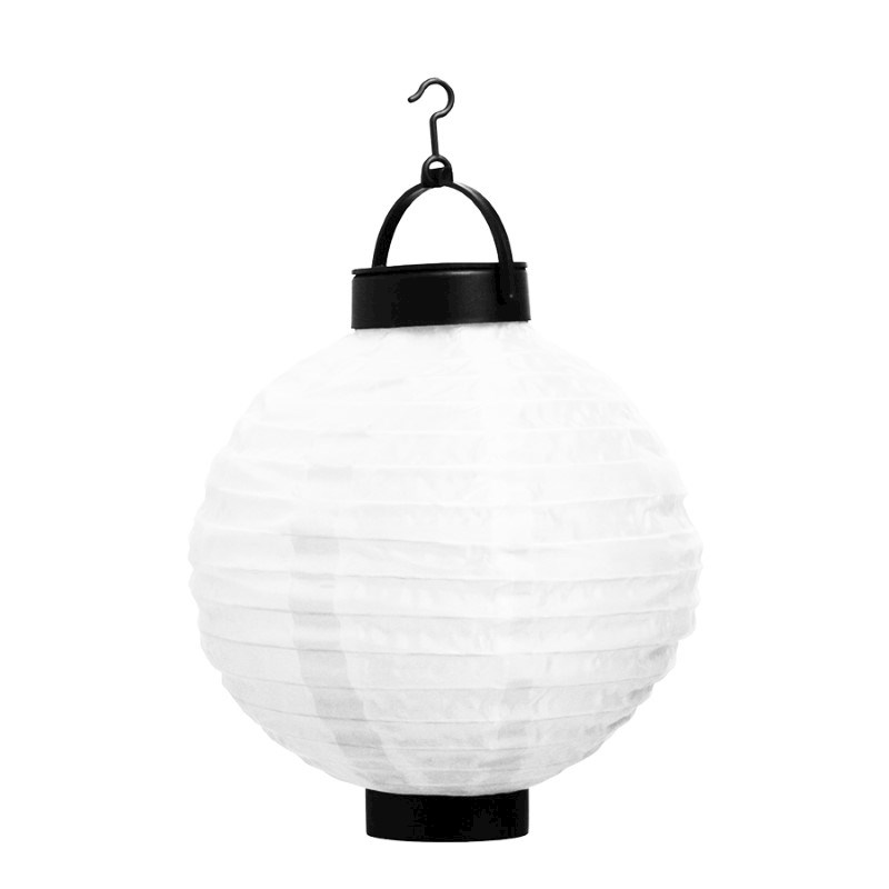 SENZA Solar LED Lantern Circle White