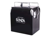 SENZA Retro Coolerbox Black