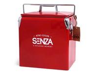 SENZA Retro Coolerbox Red