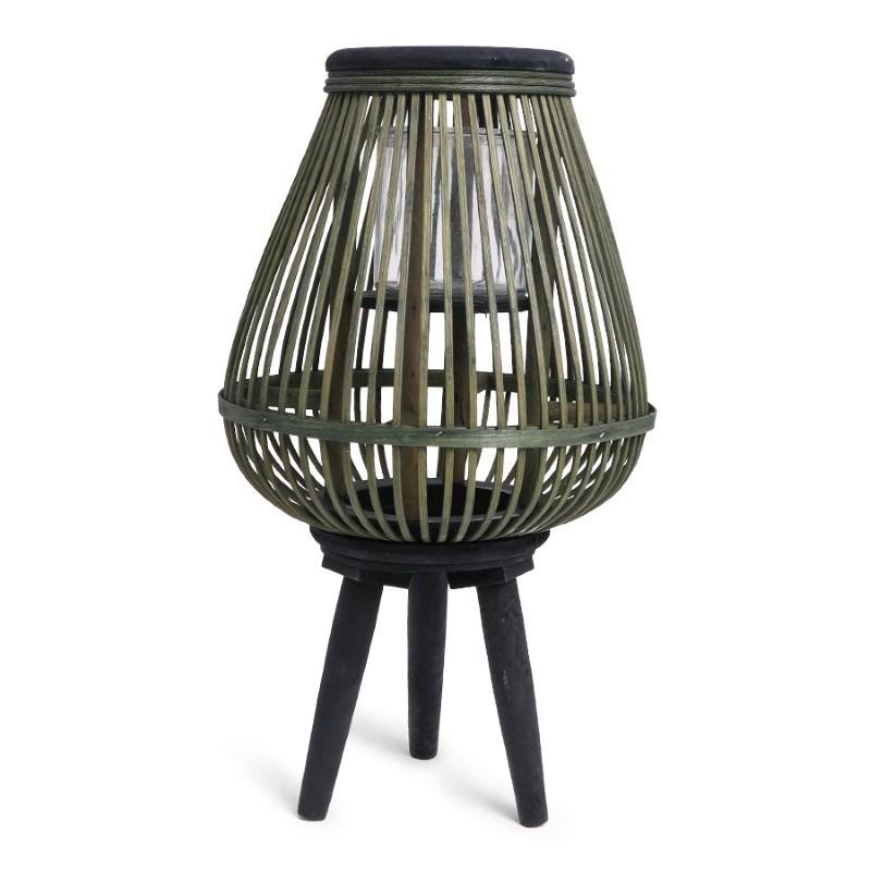 SENZA Bamboo Lantern Black/Green
