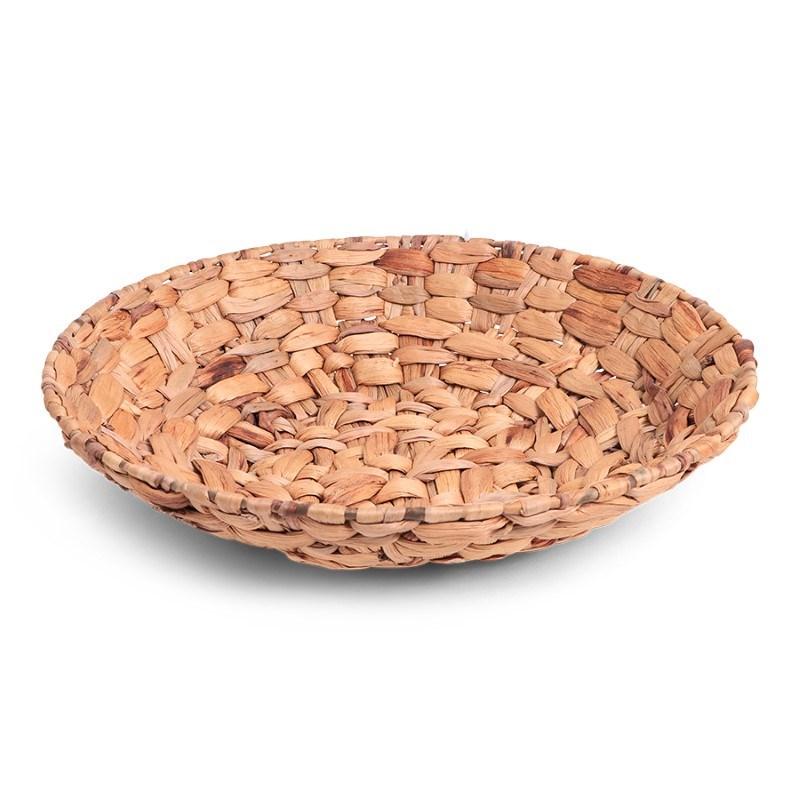 SENZA Hyacinth Shallow Basket