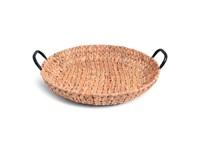 SENZA Hyacinth Shallow Basket with Handles XL