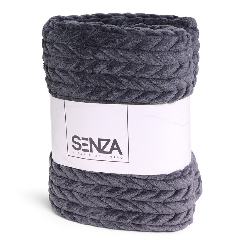 SENZA Royal Blanket Grey