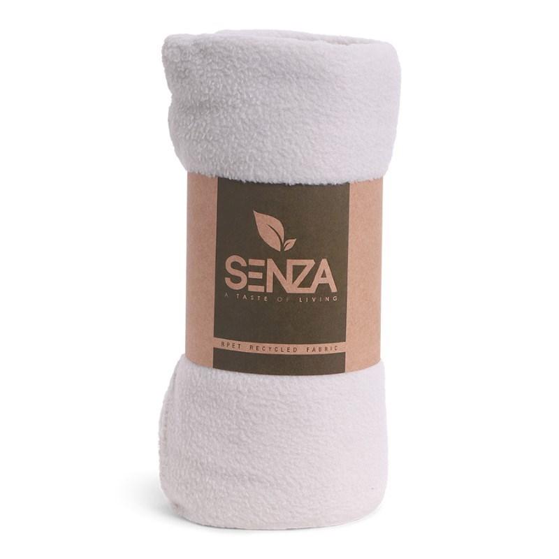 SENZA RPET ECO Blanket Light Grey