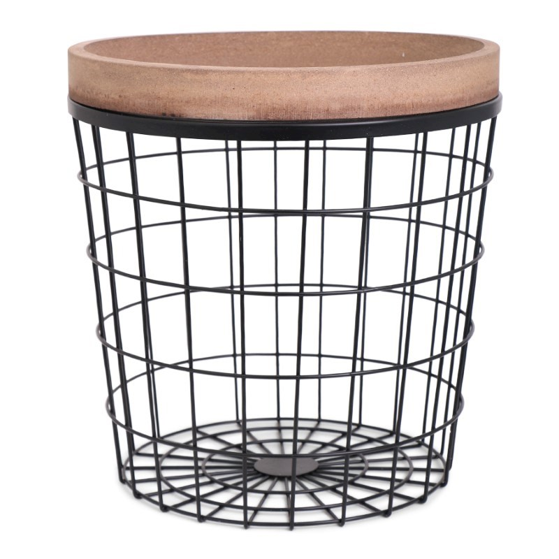 SENZA Wooden Edge Basket XL