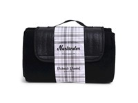 SENZA Picknick Blanket Black
