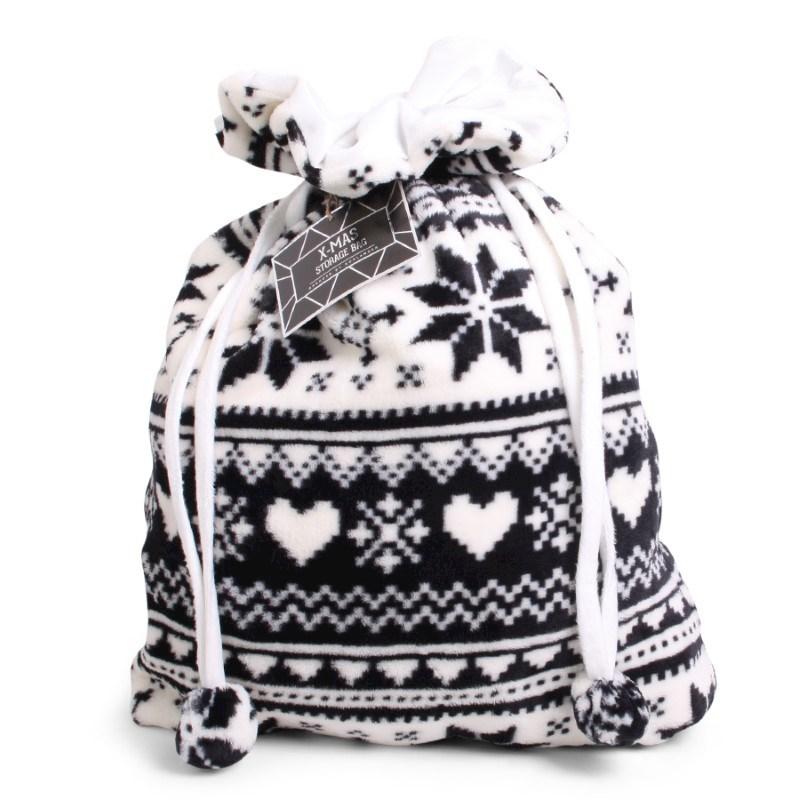 Christmas Storage Bag Black