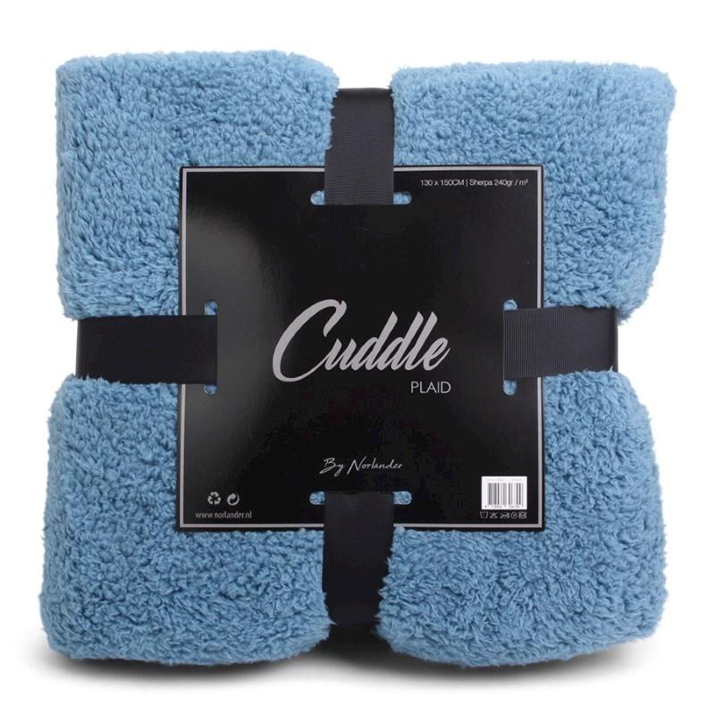 Norländer Cuddle Blanket Blue
