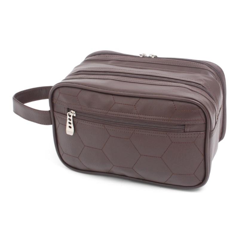 Retro Cosmetic Bag El Clasico Brown