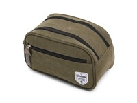 Vintage Canvas Cosmeticbag Green