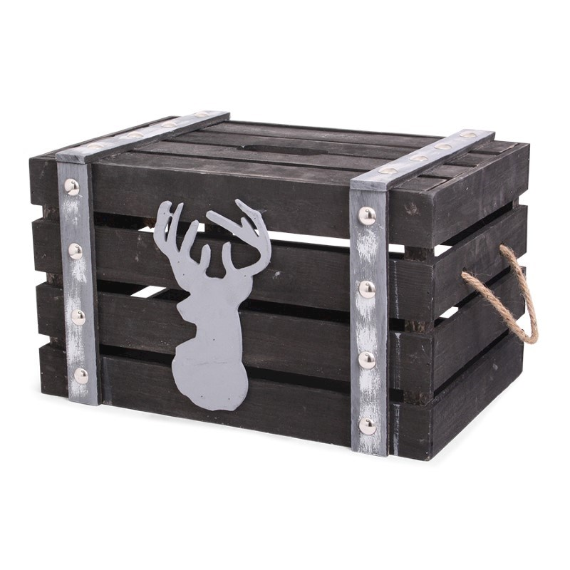 Xmas Time Crate Black