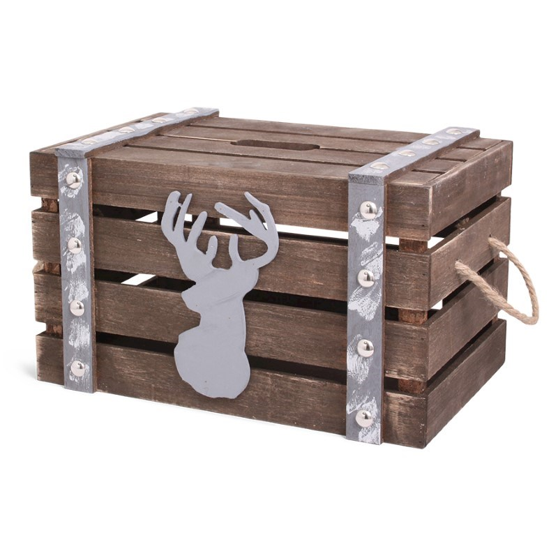 Xmas Time Crate Wood