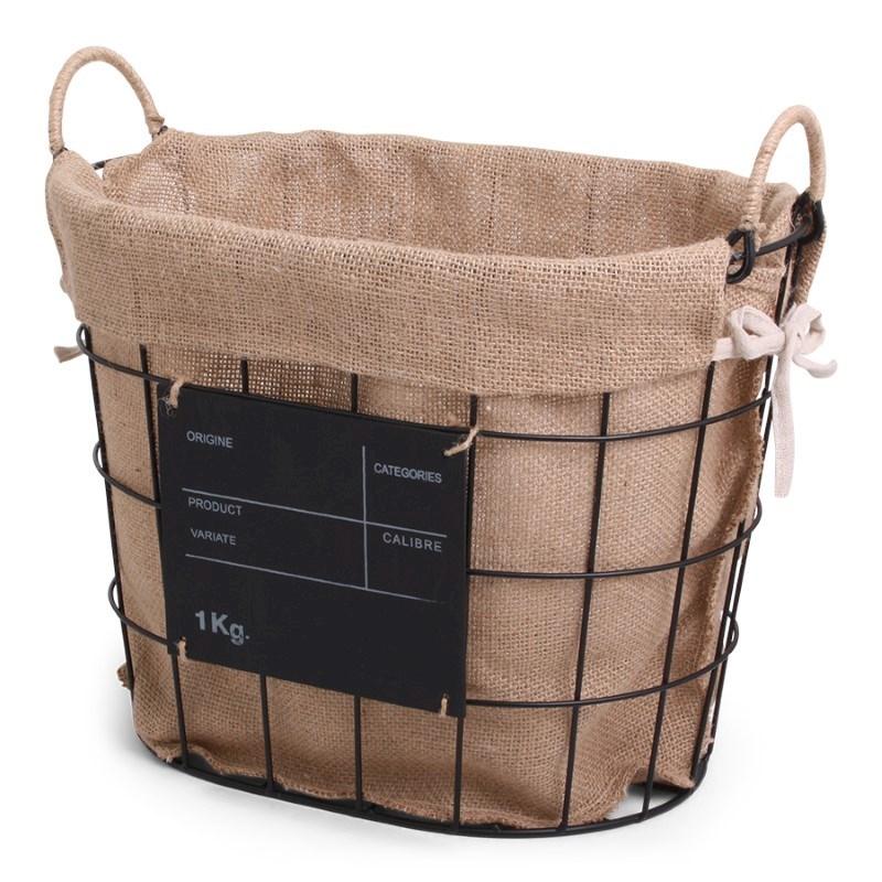 SENZA Iron Basket Brasserie Round