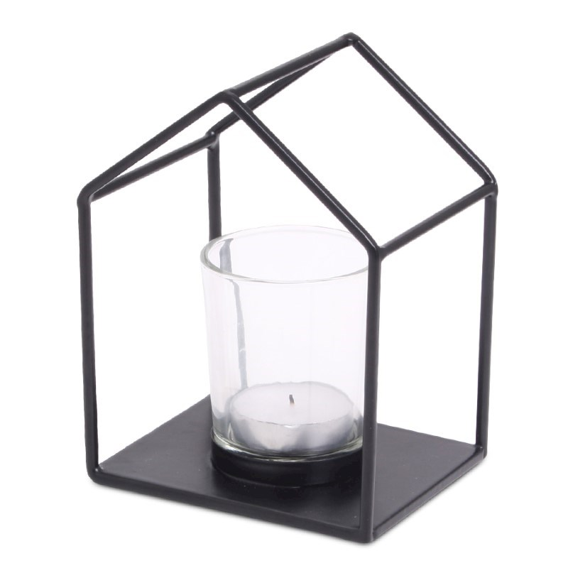 SENZA House Candle Holder (incl. glass)