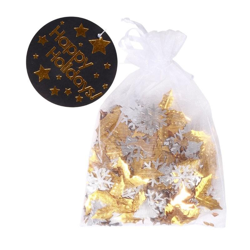 SENZA Table Confetti Silver/Gold