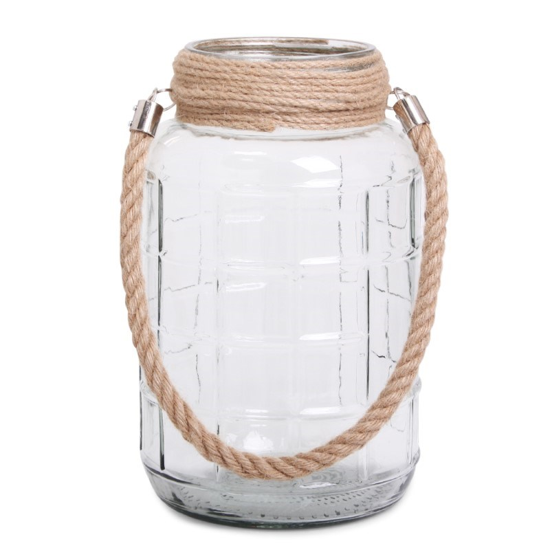 SENZA Glass Jar Large Transparant