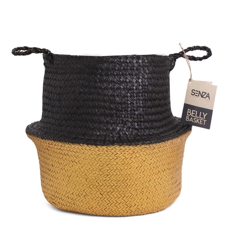 SENZA Belly Basket Black/Gold
