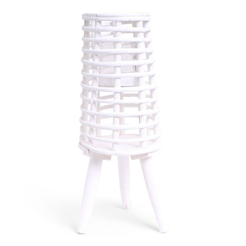SENZA Willow Lantern White