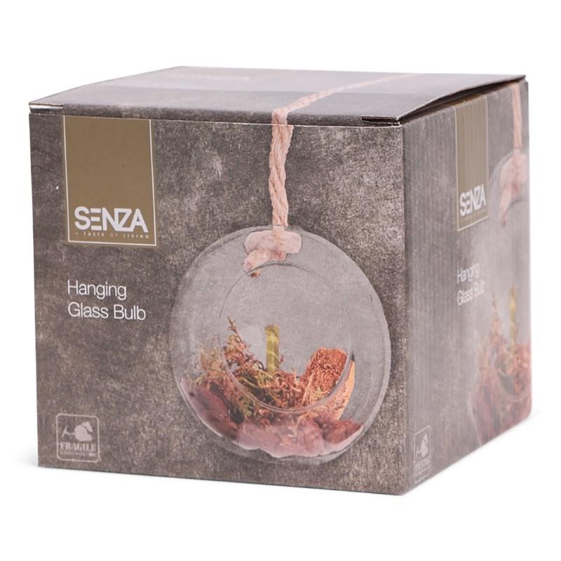SENZA Glass Hanging Bulb 12cm