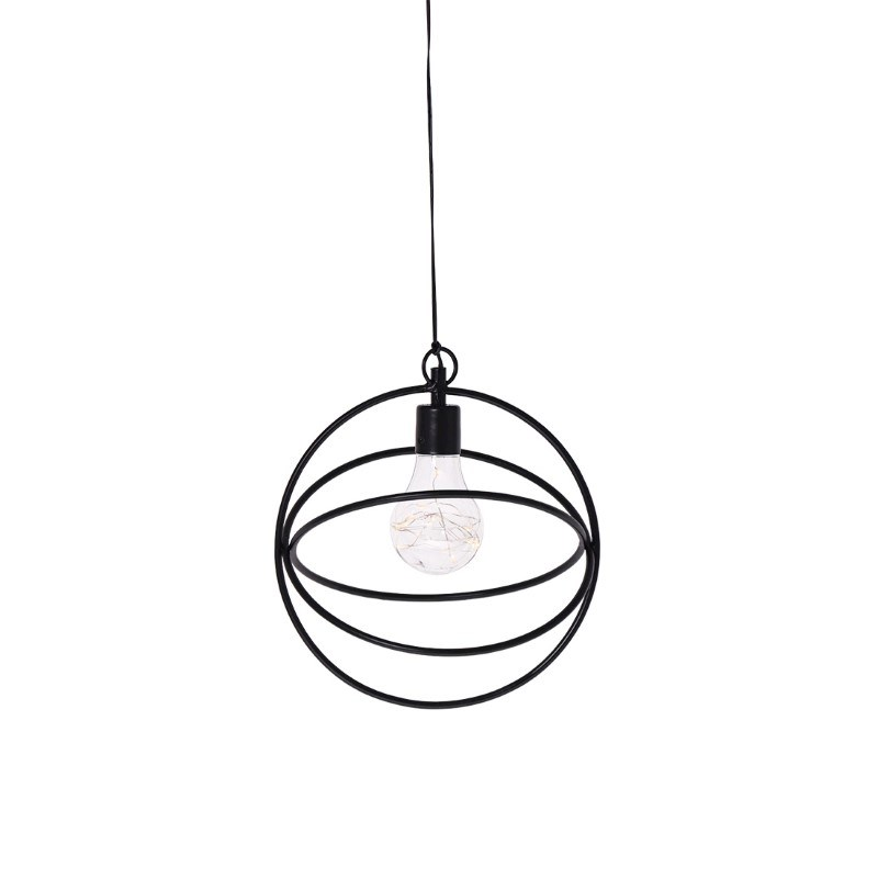 SENZA LED Hanging lamp with timer round