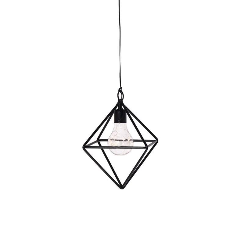 SENZA LED Hanging lamp with timer diamond